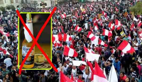 Peruanos exigen que México pida perdón por enviarnos la cerveza Corona
