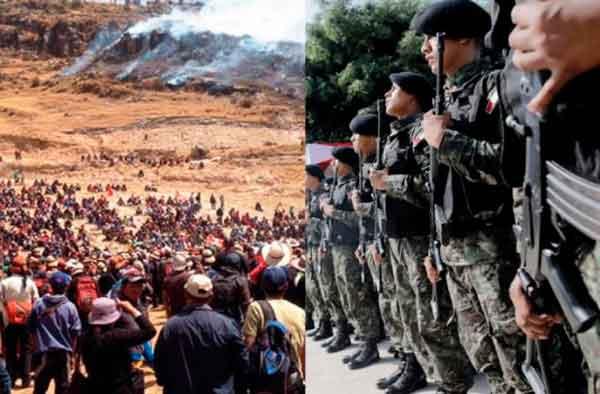 Conflicto Las Bambas: Gobierno enviará 3 ministros y 2 mil comandos para DIALOGAR