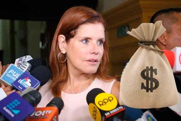 Araoz propone que un congresista debe ganar 1 millón para que no piense en robar