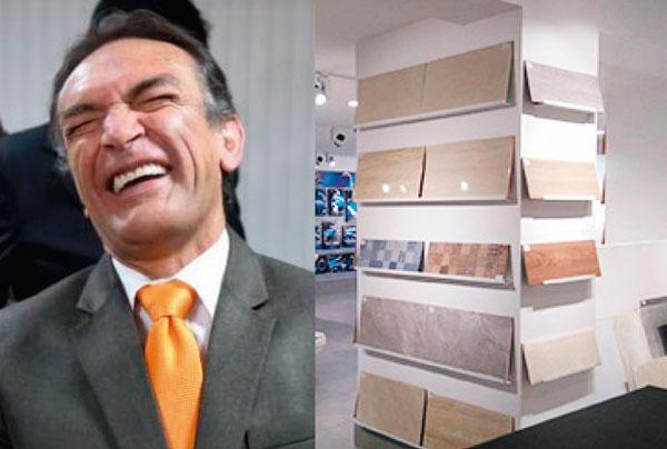 Becerril dejará la política para poner una tienda de porcelanato italiano