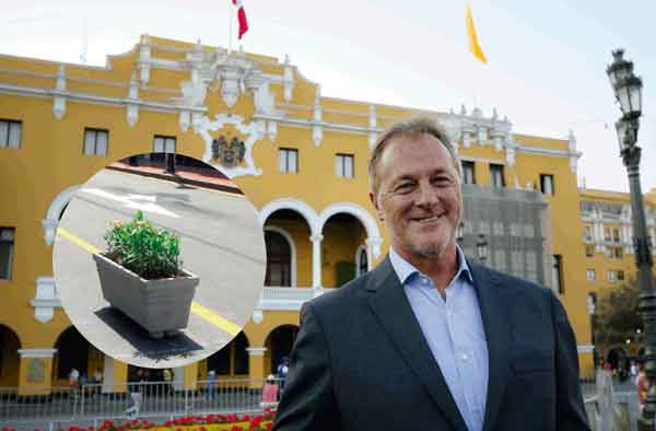 Limaflores: Muñoz nombra a un macetero como gerente de Transporte Urbano