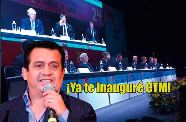 FIL2019: Organizadores se disculpan por no poner a Tony Rosado en la inauguración