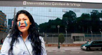 Niegan licencia a universidad Garcilaso justo cuando Yesenia Ponce había hecho traslado